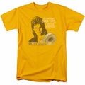 Macgyver t-shirt Duct Tape mens gold
