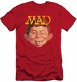 Mad Magazine slim-fit t-shirt Absolutely Mad mens red