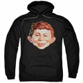 Mad pull-over hoodie Alfred Head adult black