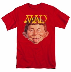Mad t-shirt Absolutely Mad mens red
