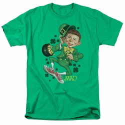 Mad t-shirt Lucky Mad mens kelly green