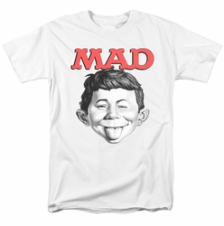 Mad t-shirt U Mad mens white