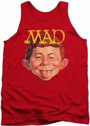 Mad tank top Absolutely Mad mens red