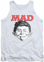 Mad tank top U Mad mens white