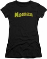 Madagascar juniors t-shirt Logo black