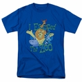 Madagascar t-shirt Escaped mens royal blue