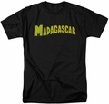 Madagascar t-shirt Logo mens black