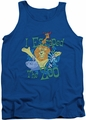 Madagascar tank top Escaped mens royal blue