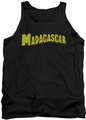 Madagascar tank top Logo mens black