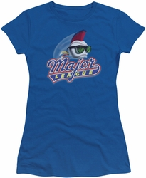 Major League juniors t-shirt Title royal
