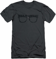 Major League slim-fit t-shirt Wild Thing mens charcoal