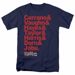 Major League t-shirt Team Roster mens navy