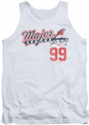 Major League tank top 99 mens white