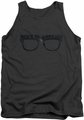 Major League tank top Wild Thing mens charcoal