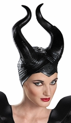 Maleficent Horns Deluxe adult costume accessory