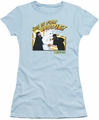 Mallrats juniors t-shirt Bunny Beatdown light blue