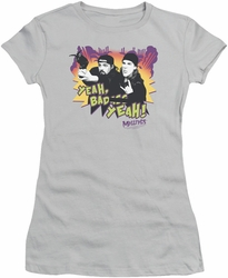 Mallrats juniors t-shirt Grappling Hook silver