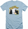 Mallrats slim-fit t-shirt Bunny Beatdown mens light blue