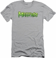 Mallrats slim-fit t-shirt Logo mens silver