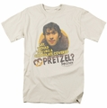 Mallrats t-shirt Pretzels mens cream