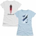 Man of Steel Juniors Character t-shirts