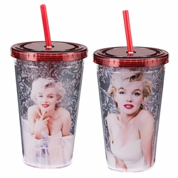 Marilyn Monroe 18 oz. Acrylic Travel Cup