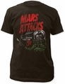 Mars Attacks t-shirt Space Adventure Soft Fitted 30/1 mens coal