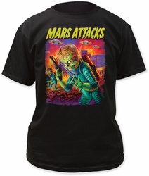 Mars Attacks UFOs attack adult tee pre-order