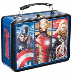 Marvel Avengers 2 Movie Large Tin Tote