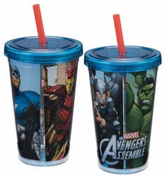 Marvel Avengers Assemble 12 oz. Acrylic Travel Cup