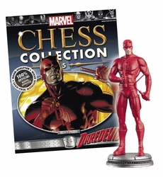 Marvel Chess Figurine Collection Magazine #5 Daredevil White Pawn
