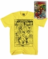 Marvel Heroes Tin Charger Yellow T-Shirt