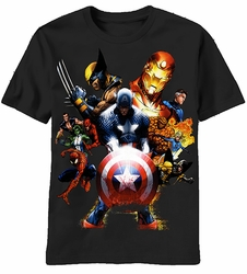 Marvel Team Ups Soldiers Revenge t-shirt men Black pre-order