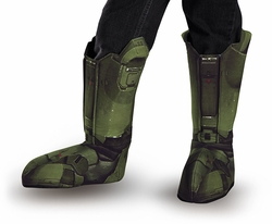 Master Chief adult boot covers Halo