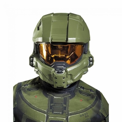 Master Chief childs half mask Halo