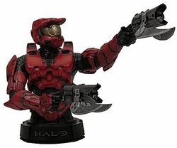 Master Chief Red Mini Bust Halo 3 Gentle Giant