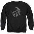 Masters of the Universe adult crewneck sweatshirt Orko Clout black