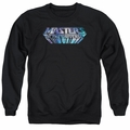 Masters of the Universe adult crewneck sweatshirt Space Logo black