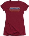 Masters Of The Universe juniors t-shirt sheer Logo cardinal