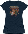 Masters Of The Universe juniors t-shirt sheer Team Of Heroes navy