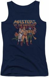 Masters Of The Universe juniors tank top Team Of Heroes navy