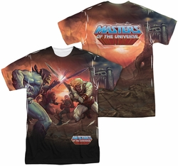 Masters Of The Universe mens full sublimation t-shirt Battle