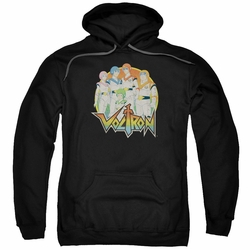 Masters Of The Universe pull-over hoodie Group adult black