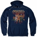 Masters of the Universe pull-over hoodie Team Of Heroes adult navy
