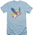 Masters Of The Universe slim-fit t-shirt And Swiftwind mens light blue