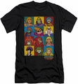 Masters Of The Universe slim-fit t-shirt Character Heads mens black