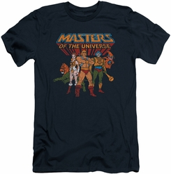 Masters Of The Universe slim-fit t-shirt Team Of Heroes mens navy