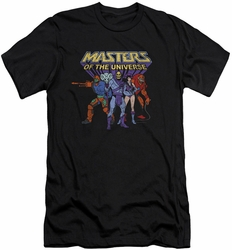 Masters Of The Universe slim-fit t-shirt Team Of Villains mens black