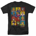 Masters Of The Universe t-shirt Character Heads mens black