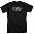 Masters Of The Universe t-shirt Space Logo mens black